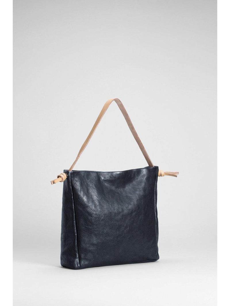Luna Large Bag Black-ELK Leather-Sattva Boutique