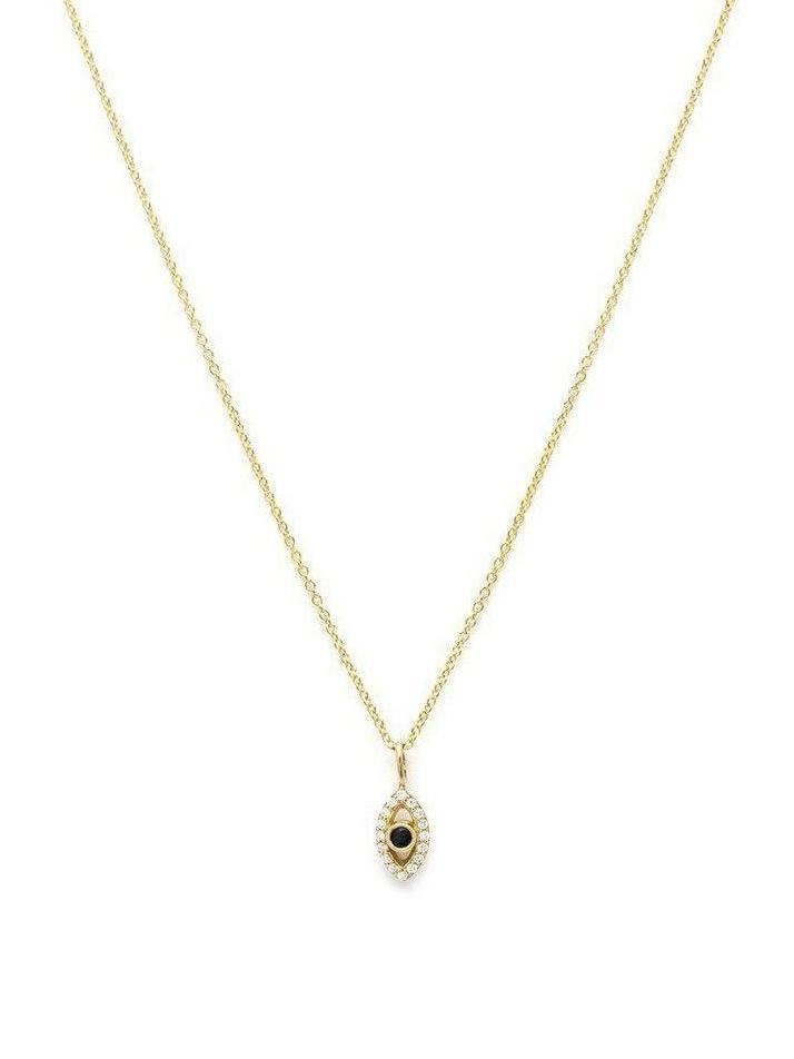 Leah Alexandra Evil Eye Necklace-Jewerly - Necklace-Sattva Boutique
