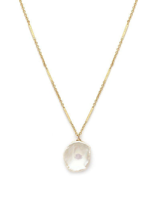 Marola Necklace Pearl-Leah Alexandra-Sattva Boutique