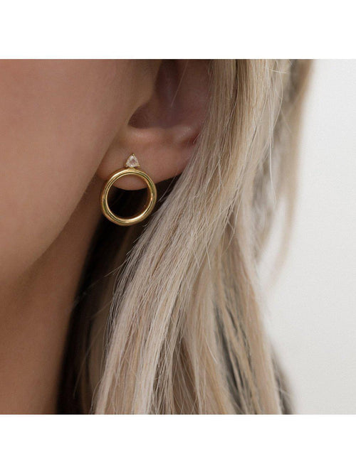 Leah Alexandra Sol Studs-Jewerly - Earrings-Sattva Boutique