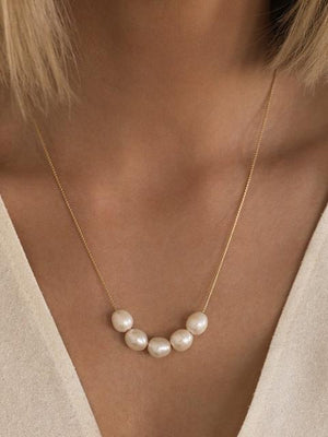 Leah Alexandra Mer Necklace-Jewerly - Necklace-Sattva Boutique