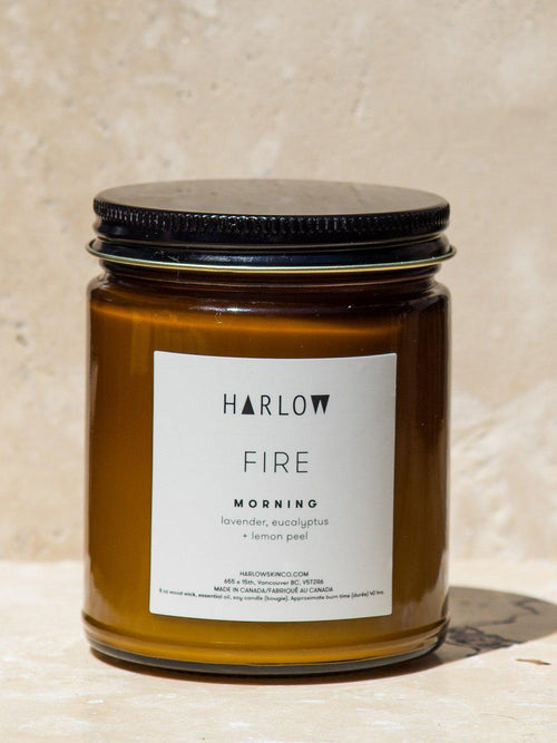 Fire Candle Morning-Housewares - Candles & Scents-Sattva Boutique