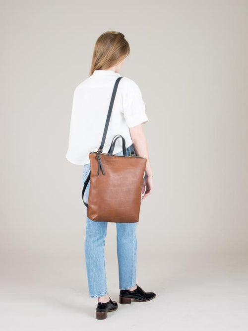 Melissa Convertible Backpack Bronze-Bags - Backpack-Sattva Boutique