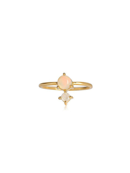 Leah Alexandra Opal Ring-Jewerly - Rings-Sattva Boutique