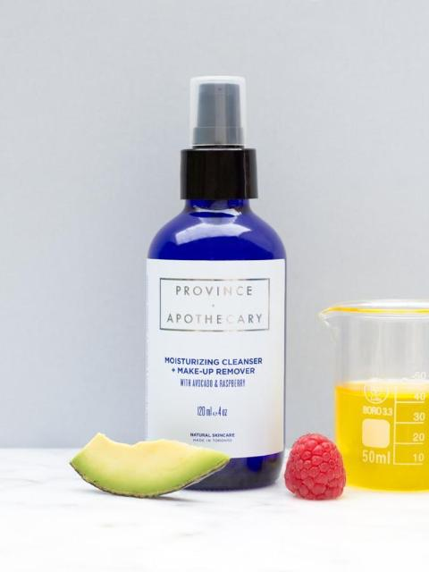 Moisturizing Cleanser + Make-Up Remover-Province Apothecary-Sattva Boutique
