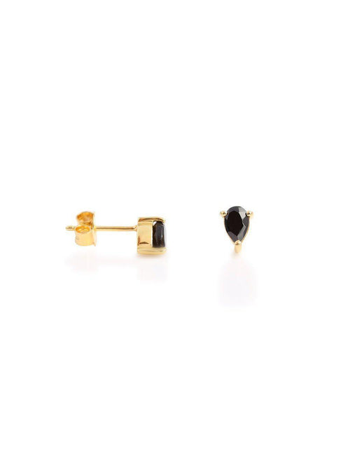 Leah Alexandra Pear Studs-Jewerly - Earrings-Sattva Boutique