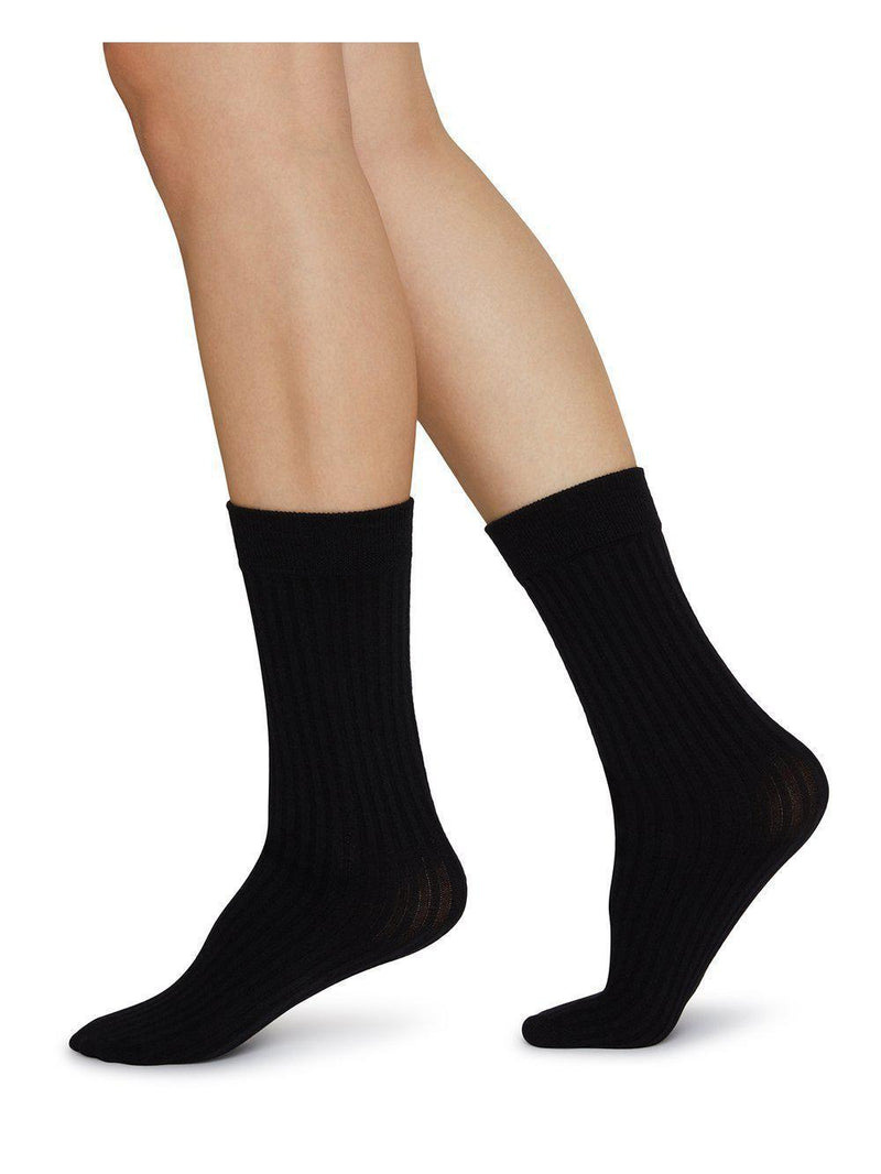 Swedish Stocking Signe Bio-Cotton Socks-Accessories - Socks-Sattva Boutique