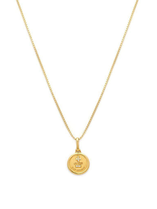 Love Token Round-Jewerly - Necklace-Sattva Boutique