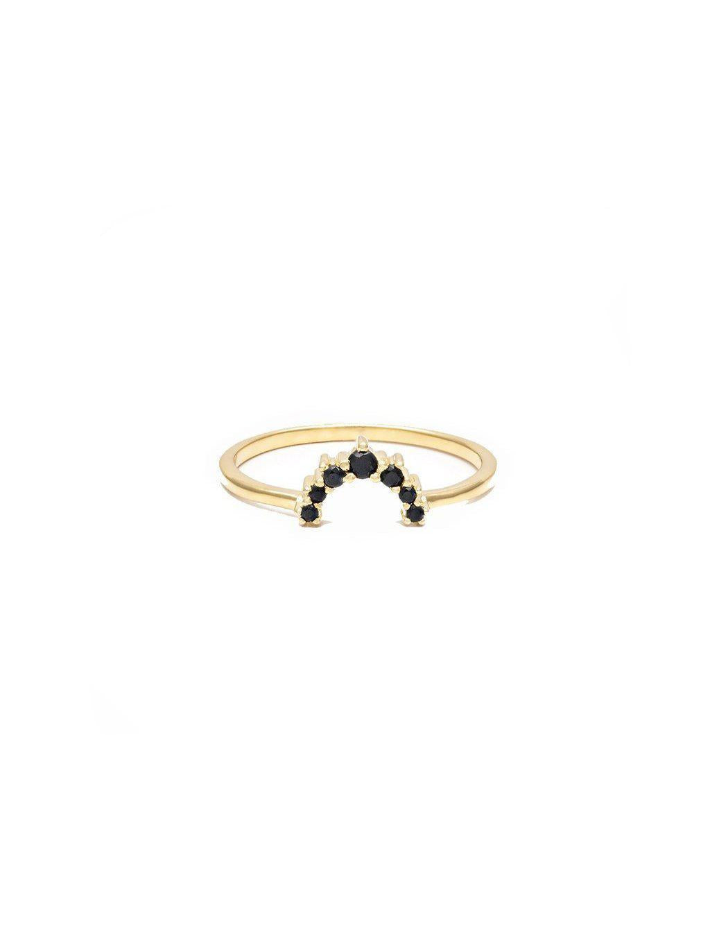 Leah Alexandra Rainbow Ring-Jewerly - Rings-Sattva Boutique