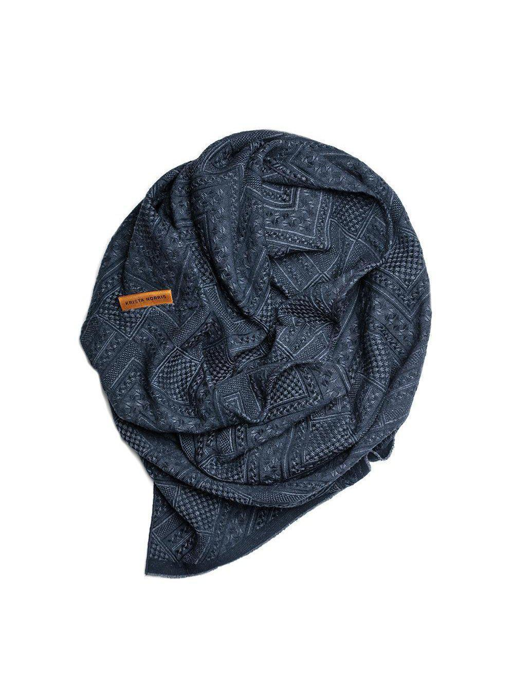 Krista Norris Palmyra Wingtip Infinity Scarf-Accessories - Scarves-Sattva Boutique