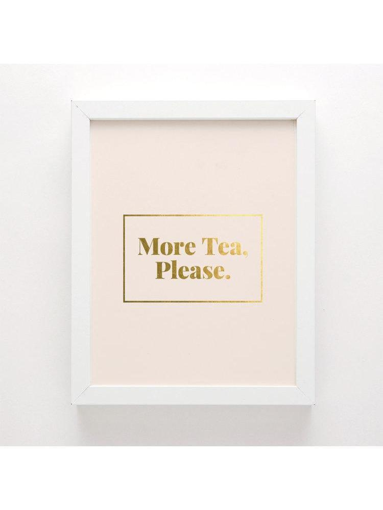 Swell Made More Tea Art Print-Non Clothing Accessories - Art-Sattva Boutique