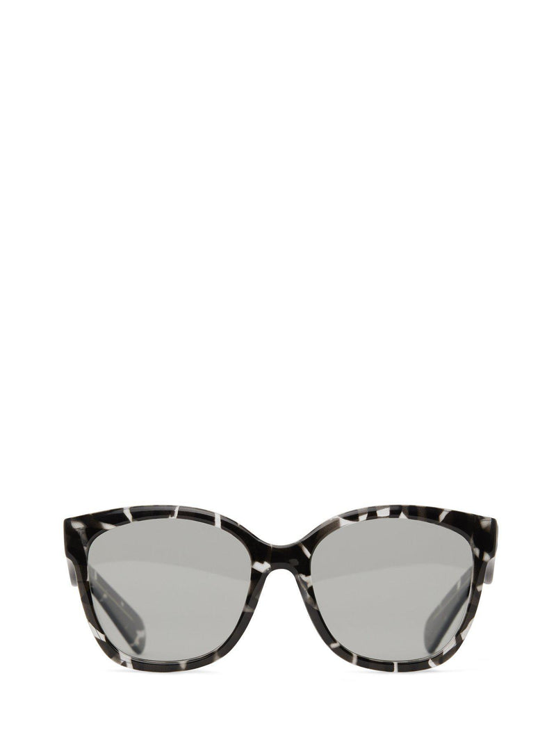 Clea Sunglasses Smoke-Matt and Nat-Sattva Boutique
