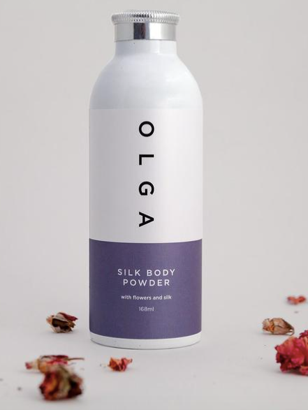 Silk Body Powder-Olga Designs-Sattva Boutique