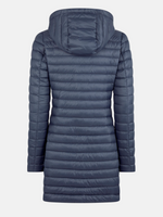 Bryanna Hooded Coat Ombre Blue-Save the Duck-Sattva Boutique