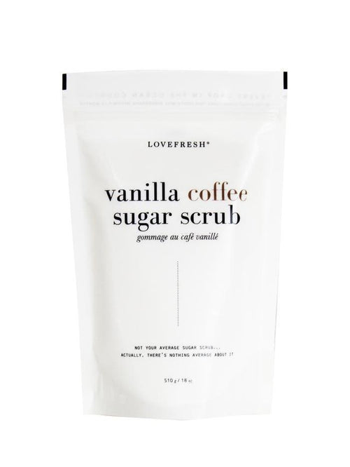 Love Fresh All Natural Body Sugar Scrub Vanilla Coffee-Beauty - Body Care-Sattva Boutique