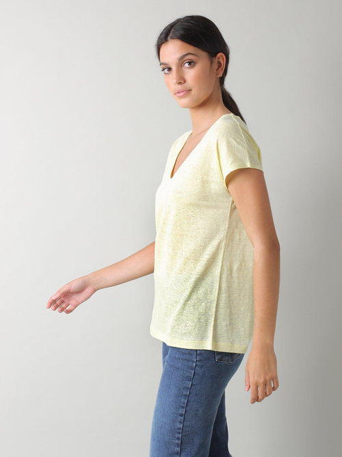 Linen T-Shirt-Indi & Cold-Sattva Boutique