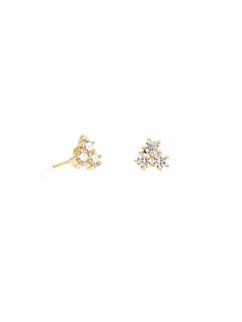 Leah Alexandra Trio Studs-Jewerly - Earings-Sattva Boutique