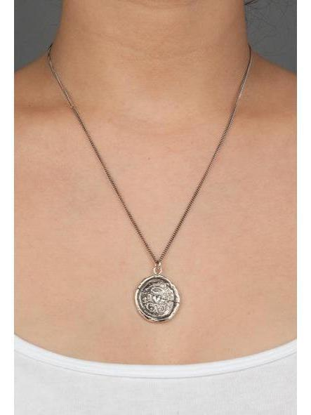 Pyrrha True Self Necklace-Jewerly - Necklace-Sattva Boutique