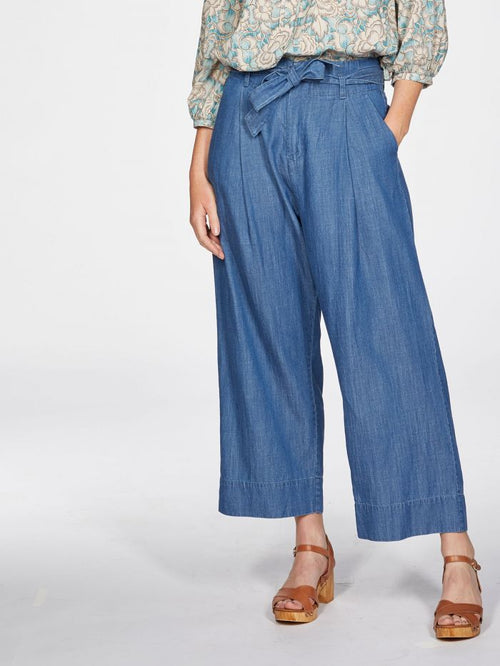 Esther Tie Waist Culottes-Thought-Sattva Boutique