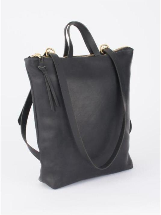 Eleven Thirty Melissa Convertible Backpack / Black-Bags - Backpack-Sattva Boutique