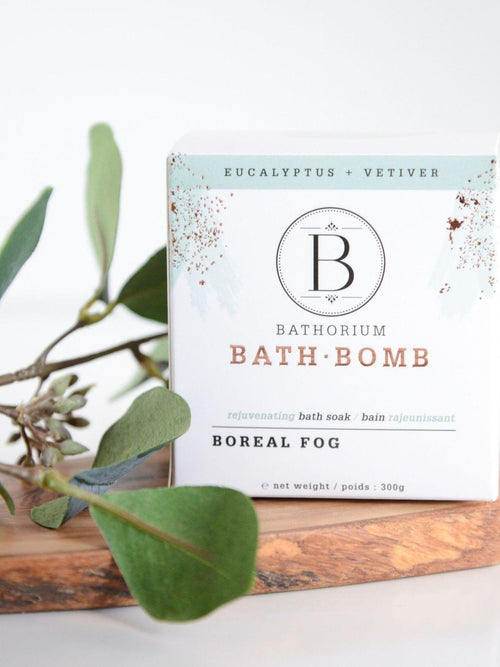 Boreal Fog Bath Bomb-Bathorium-Sattva Boutique