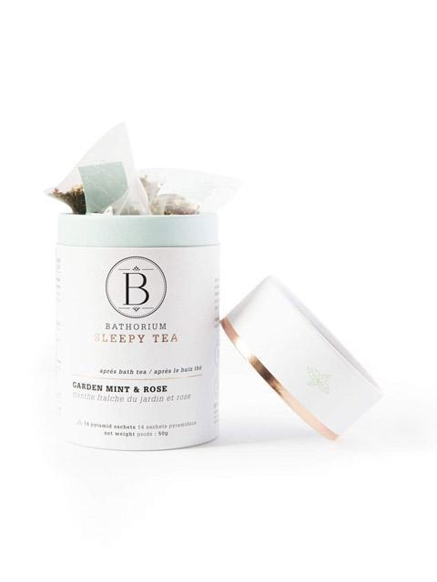 Garden Mint + Rose Sleepy Time Bath Tea-Bathorium-Sattva Boutique