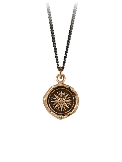 Direction Necklace Bronze-Jewerly - Necklace-Sattva Boutique