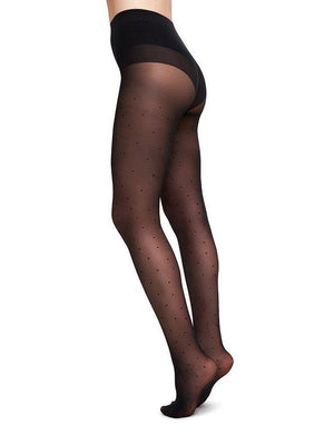 Swedish Stocking Doris Dots Tights-Accessories - Hosiery-Sattva Boutique