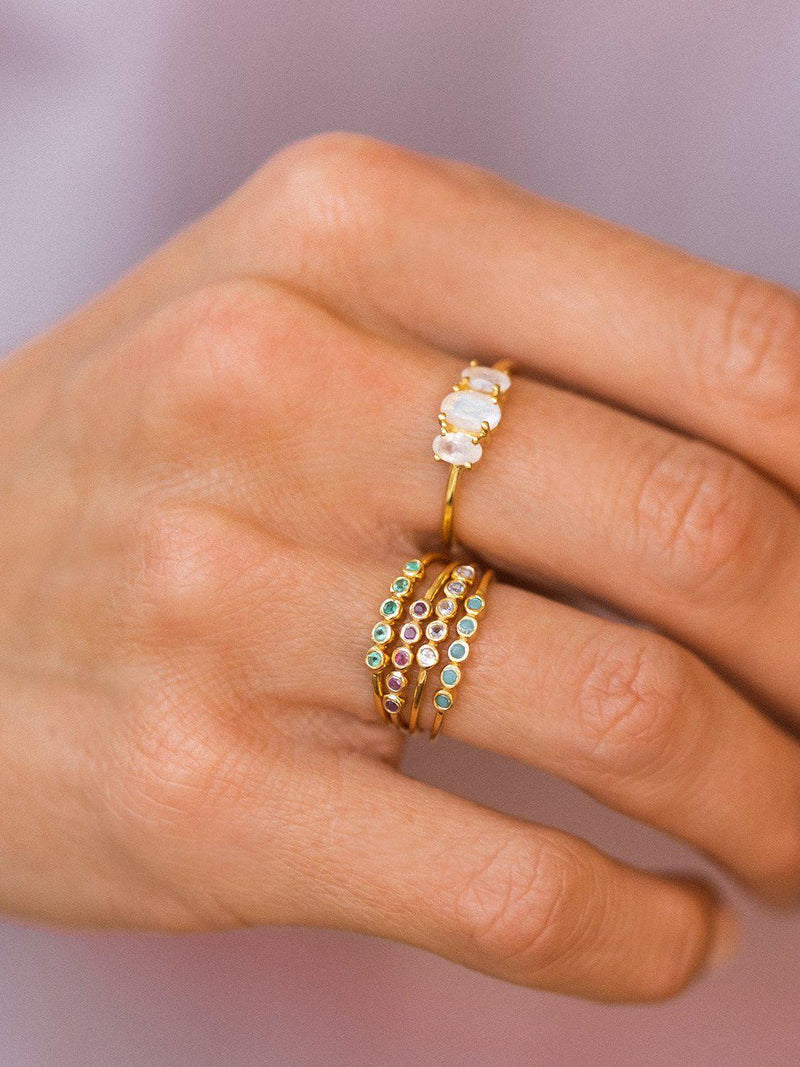Ellipsis Ring-Leah Alexandra-Sattva Boutique