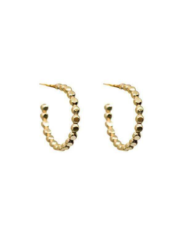 Hart + Stone Sprinkle Hoops-Jewerly - Earrings-Sattva Boutique