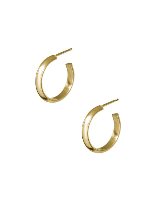 Pico Hoops Medium Gold Filled-Hart + Stone-Sattva Boutique
