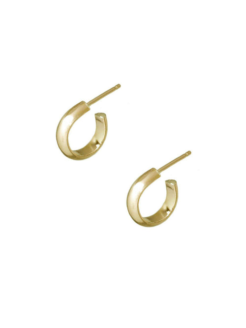 Pico Hoops-Jewerly - Earrings-Sattva Boutique