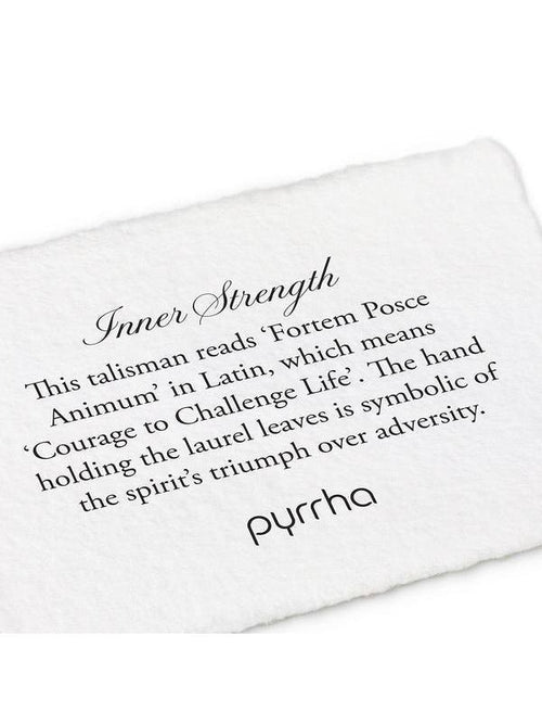 Inner Strength Necklace-Pyrrha-Sattva Boutique