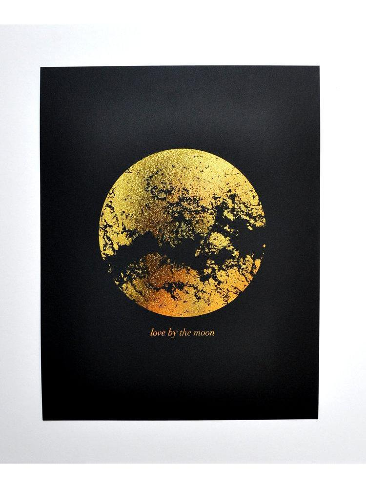 Swell Made Love by the Moon Art Print-Housewares - Art-Sattva Boutique