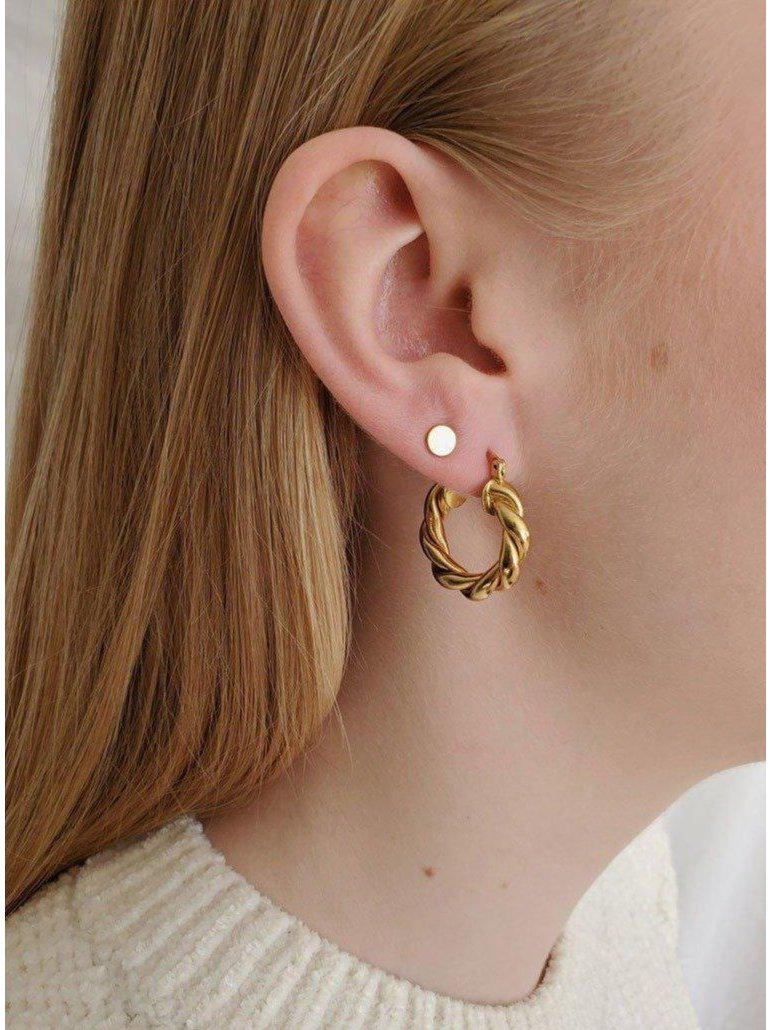 Lyon Hoops Gold-CoutuKitsch-Sattva Boutique