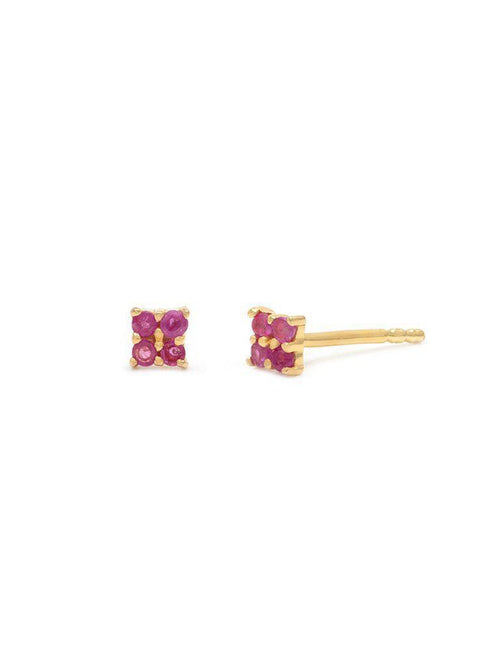 Quaditta Studs-Jewerly - Earrings-Sattva Boutique