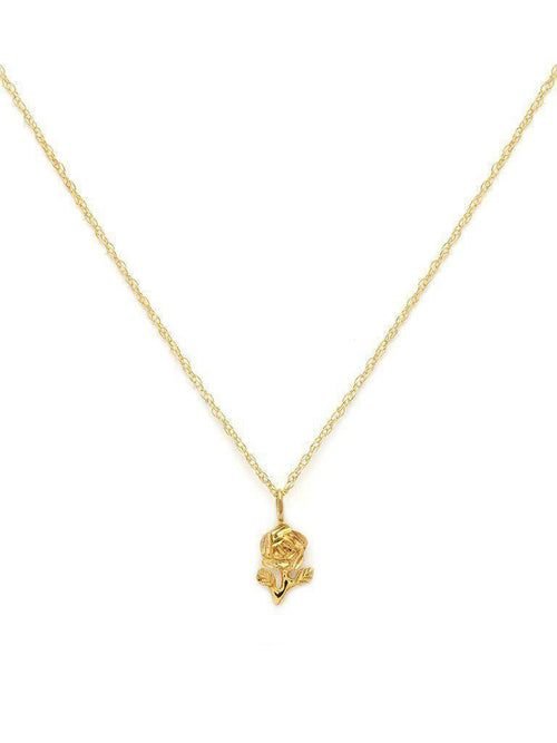 Rose Necklace-Jewerly - Necklace-Sattva Boutique
