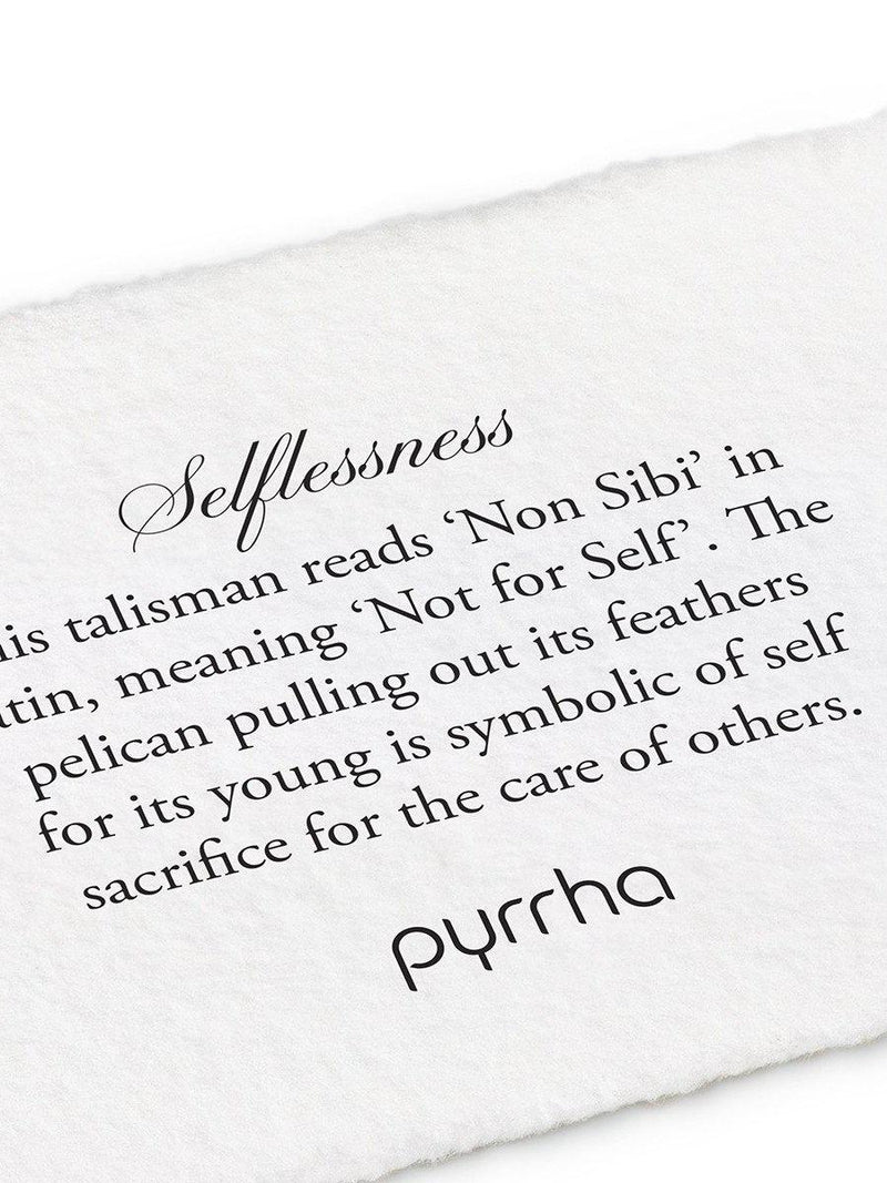 Selflessness Necklace-Pyrrha-Sattva Boutique
