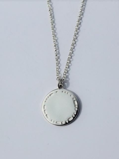 """Self Love"" Necklace Silver-Covet + Keep-Sattva Boutique"