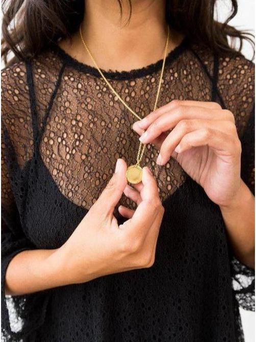 Covet + Keep Self Love Necklace Gold-Jewerly - Necklace-Sattva Boutique