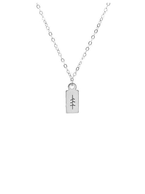 Hart + Stone Tree Necklace Silver-Jewerly - Necklace-Sattva Boutique