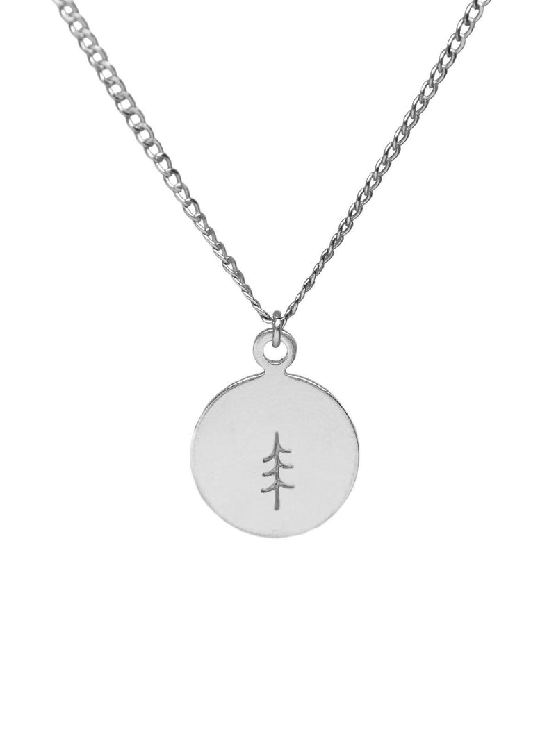 Tree Necklace Round-Hart + Stone-Sattva Boutique