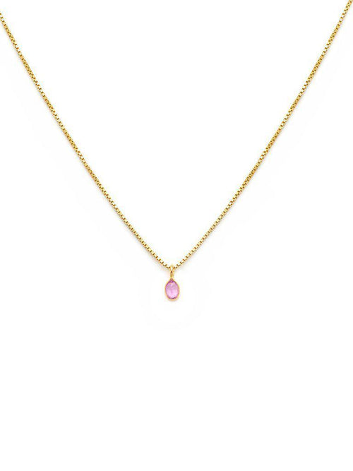 Sofia Slice Necklace-Leah Alexandra-Sattva Boutique