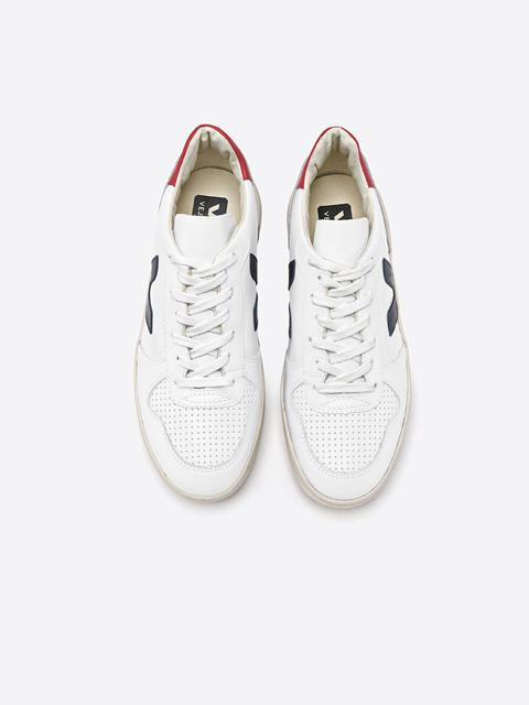 Veja V-10 Extra White Nautico Pekin-Shoes - Sneakers-Sattva Boutique