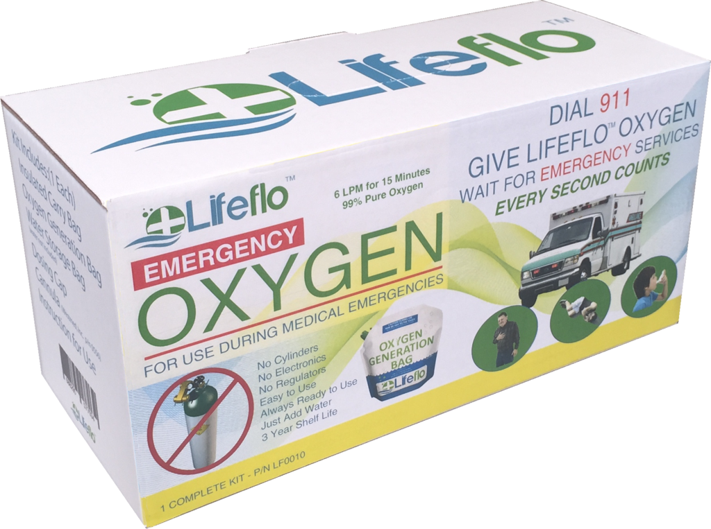 Lifeflo OTC Emergency Oxygen - SINGLE(1)