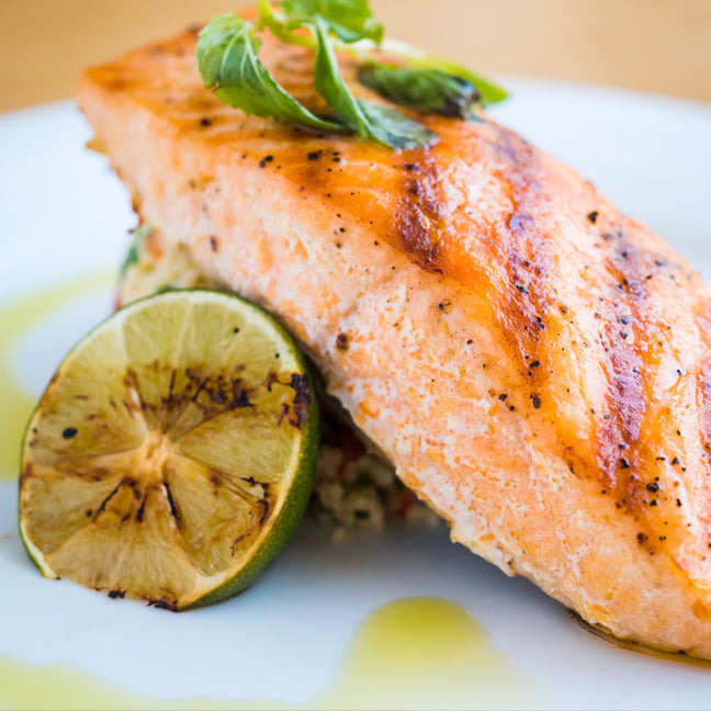 Honey Sriracha Lime Salmon