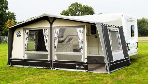 Caravan Awning Guide - Full Awnings, Canopies & Porch Awnings