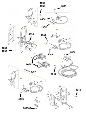 Truma Ultraflow Water System Spare Parts