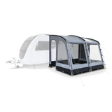 Dometic Rally 330 Caravan Porch Awning - Awning attached to caravan