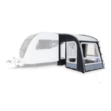 Dometic Rally PRO 200 300D Caravan Porch Awning shown on carvan